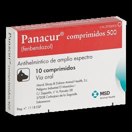 PANACUR COMPRIMIDOS 500 mg...