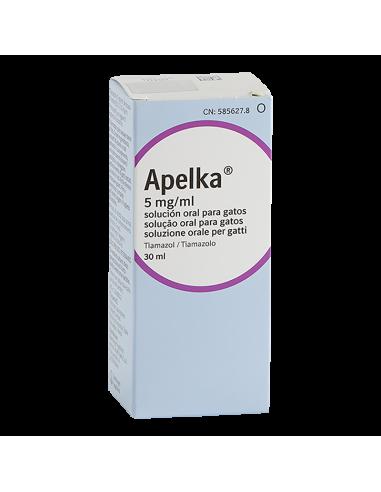 APELKA 5 mg/ml SOLUCION ORAL PARA...