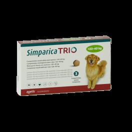 SIMPARICA TRIO 20,1 - 40 KG...
