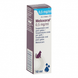 MELOXORAL CAT 0,5 mg 10ml