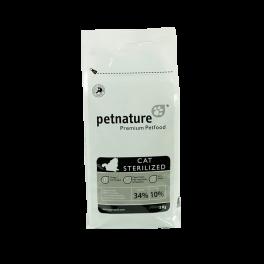 PETNATURE CAT STERILIZED 2 kg