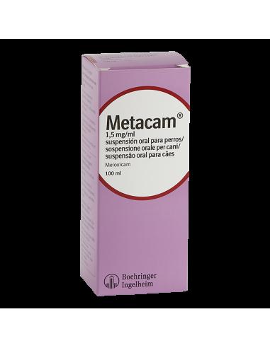 METACAM 1,5 mg/ml SUSPENSION ORAL 100 ml