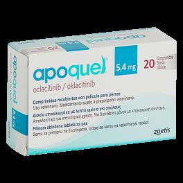 APOQUEL 5,4 mg 20 Comprimidos