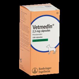 VETMEDIN CAPSULAS 2,5 mg...