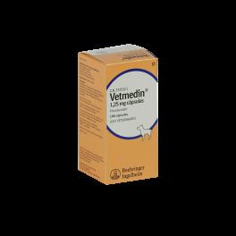 VETMEDIN CAPSULAS 1,25 mg...