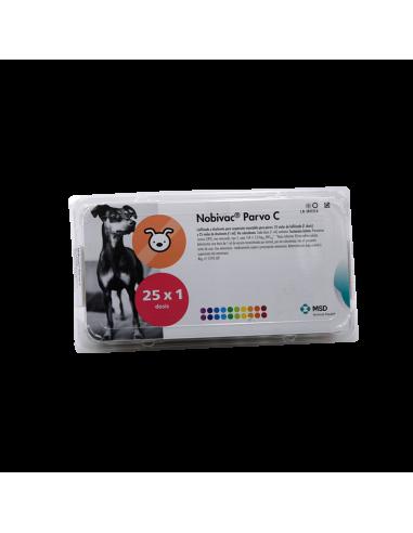 NOBIVAC PARVO-C 25 Dosis + 25 Diluyentes