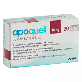 APOQUEL 16 mg 20 Comprimidos