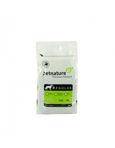 PETNATURE ADULT REGULAR 3 kg