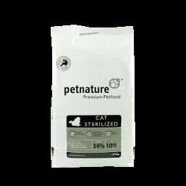 PETNATURE CAT STERILIZED 10 kg