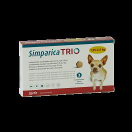 SIMPARICA TRIO 1,3 - 2,5 KG...