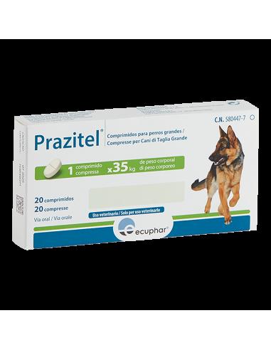 PRAZITEL XL PERROS 20 Comprimidos...