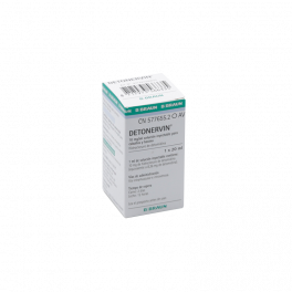DETONERVIN 10 mg/ml INY 20 ml
