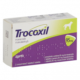 TROCOXIL 95 mg 2 Comprimidos