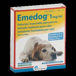 EMEDOG 1mg/ml  5 ampollas...