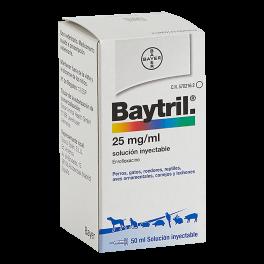 BAYTRIL 2,5% SOLUCIÓN...