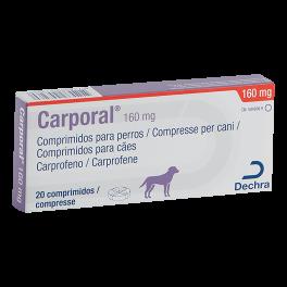 CARPORAL 160 mg 20 comp