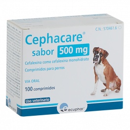 CEPHACARE 500 MG 100 CP