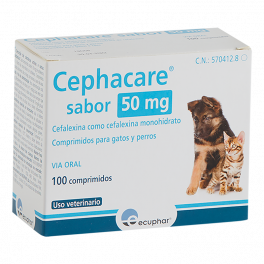 CEPHACARE 50 MG 100 CP