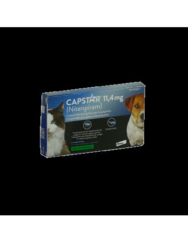 CAPSTAR 11,4 mg 6 comprimidos