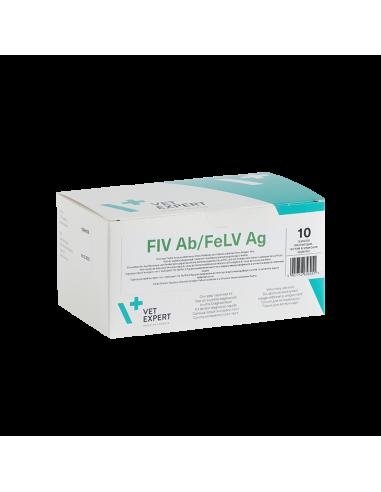 Rapid double FIV Ab/FeLV Ag (box 10)