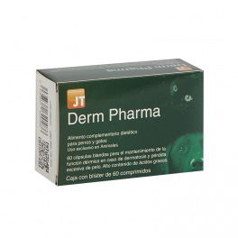 JT DERM PHARMA 60 comprimidos