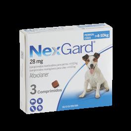 NEXGARD 3 Comprimidos 28 mg...