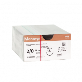 MONOSYN VIOLET 2/0 HR26 -...
