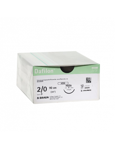 DAFILON AZUL 2/0 HS26 - 90cm (12 ud)