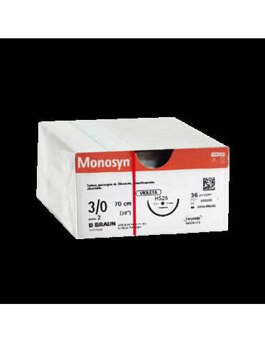 MONOSYN VIOLET 3/0 HS26 RCP - 70cm...
