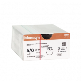MONOSYN VIOLET 5/0 HRT17 -...