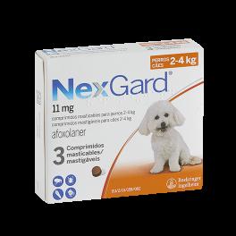 NEXGARD 3 Comprimidos 11 mg...