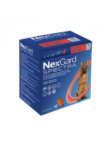 NEXGARD SPECTRA 15 Comprimidos XL (30...