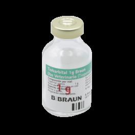 TIOBARBITAL 1 g BRAUN 20 ml