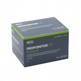 PROPOMITOR 10 mg/ml iny...