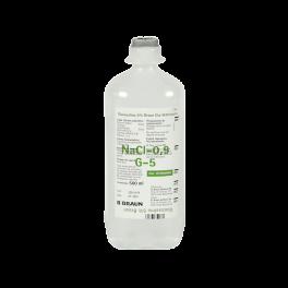 GLUCOSALINO 5% BRAUN 500 ml...