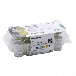 NOBIVAC L4 10 viales x 1 ml