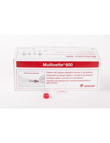 Tubo Extracción Multivettte® 600 Edta K3