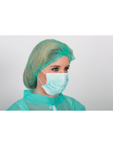 Mascarilla Quirúrgica 3 capas IIR Goma